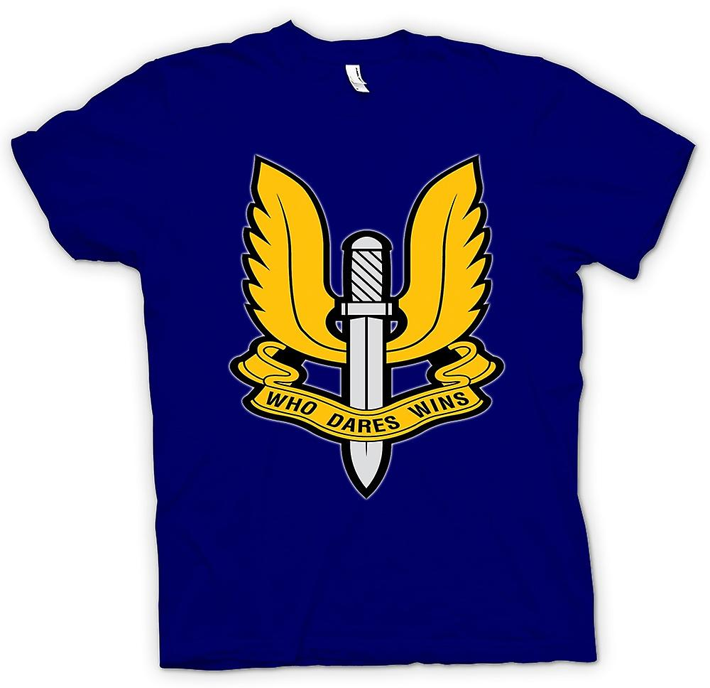 Heren T-shirt-SAS Special Forces Badge