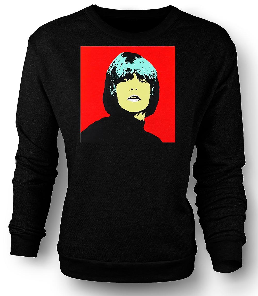 Mens Sweatshirt Rolling Stones Brian Jones - Pop Art
