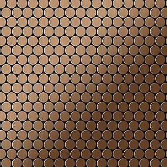 Metal mosaik Titanium LEGERING Penny-Ti-AB