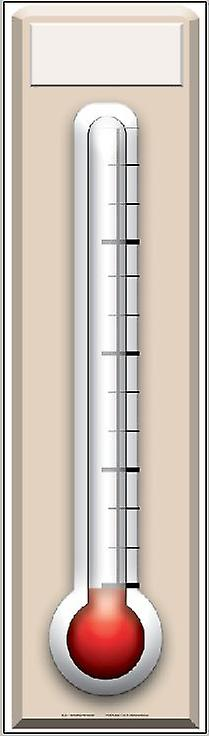 Fundraising Thermometer - Lifesize Cardboard Cutout / Standee