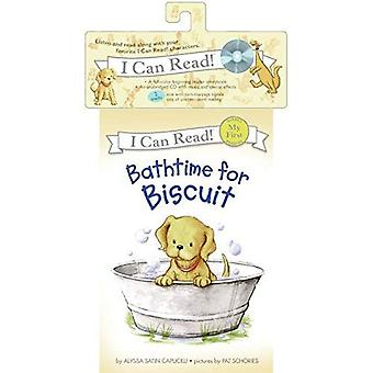 Bathtime for Biscuit [With CD] (My First I Can Read - Level Pre1)