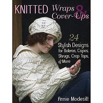 Gestrickte Wraps & Cover-Ups: 25 stilvolle Designs für Bolero, Capes, zuckt mit den Schultern, kurzen Oberteilen & mehr