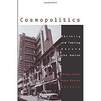 Cosmologia: Pensiero e sentimento di là della nazione (politiche culturali)