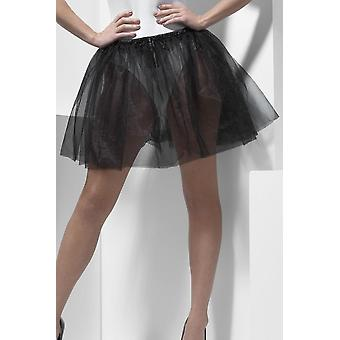 Womens Petticoat Underskirt, Longer Length 34cm Fancy Dress Accessory