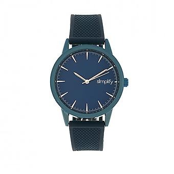Simplify The 5200 Strap Watch - Navy