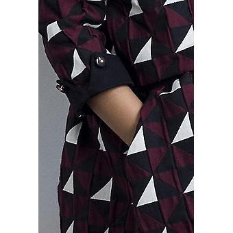 فستان فتاة الطباعة هندسية