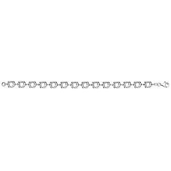 Bella Open Knot Bracelet - Silver