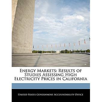 Energimarkeder resultatene av studier vurdere høye strømpriser i California av USA regjeringen ansvarlighet