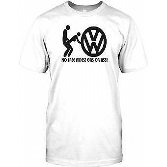 VW No Free Rides - Volkswagen Inspired Mens T Shirt