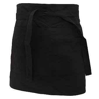 Bargear® Unisex Short Bar Apron / Aprons And Tabards (Pack of 2)