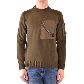 C.p. Company Green Wool Sweater
