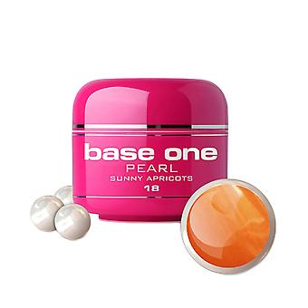 Base one - Pearl - Sunny apricots 5g UV-gel