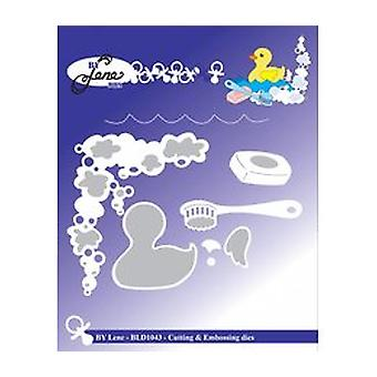 By Lene Baby Duck in Shower Cutting & Embossing Die (BLD1043)