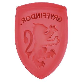 Harry Potter silicone cake tin Gryffindor red, made of silicone, in gift packaging.