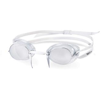 HEAD Swedish TPR Racing Swim Goggles - Smoke Mirrored Lens - Clear