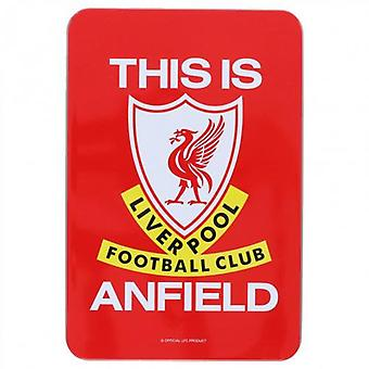 Liverpool Supporters Tin