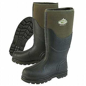 Grubs Eskline 8.5 Wellington Boots in Moss Green