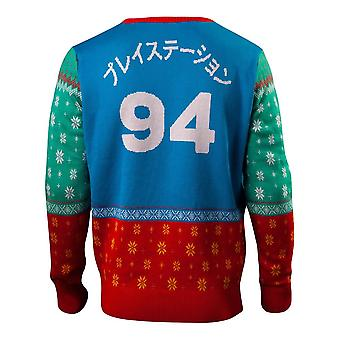 Playstation Tokyo Knitted Christmas Sweater Multi-colour XX-Large