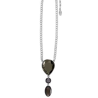 Pilgrim GoDiva ladies´ necklace  grey/silver (549121)