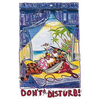 Poster - Studio B - 24x36 Don't Disturb Wall Art CJ1560B