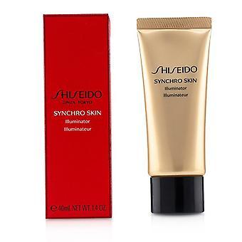 Shiseido Synchro Skin Illuminator-# oro rosa 40ml/1.4 oz