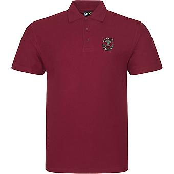 Somerset Light infanteri-licensierad brittisk armé broderad RTX Polo