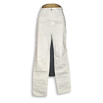 Denim & Co. Women's Jeans 14T Studio Tall Classic Denim White A305607