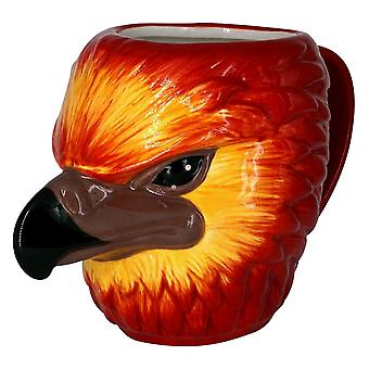 Harry Potter Fawkes tasse 3D