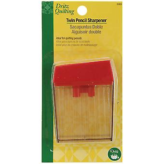 Dritz Quilting Twin Pencil Sharpener 3089