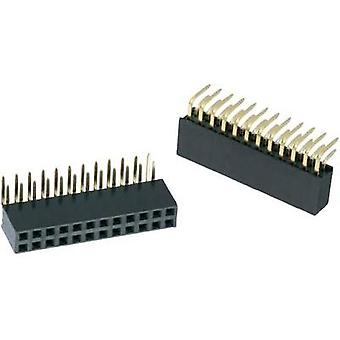 Receptacles (standard) WR-PHD Total number of pins 32 Würth Elektronik 613032243121 Contact spacing: 2.54 mm 1 pc(s)