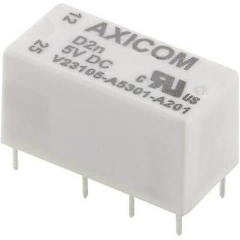 PCB relays 5 Vdc 3 A 2 change-overs TE Connectivity