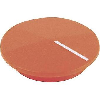 Cover + hand Orange, White Suitable for K12 rotary knob Cliff CL177807 1 pc(s)