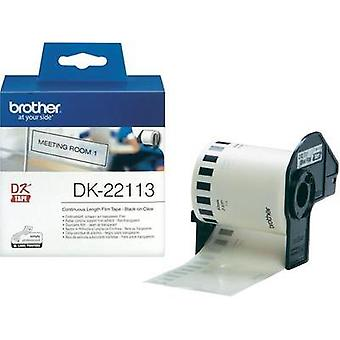 Brother Labels (roll) 62 mm x 15.24 m Film Transparent