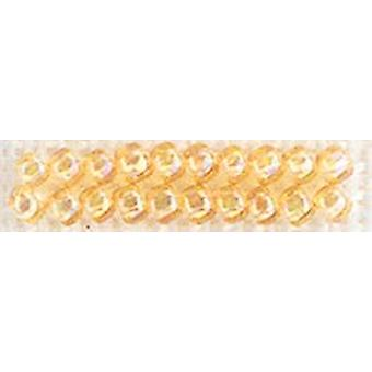 Mill Hill Glass Seed Beads 4.54g-Crystal Honey GSB-02019