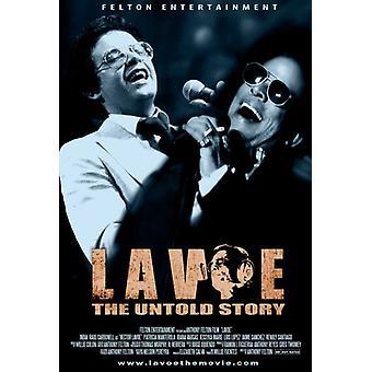 Impresión de póster de película de Lavoe (27 x 40)