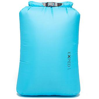 New EXPED Fold Drybag 40L Travel Luggage Blue
