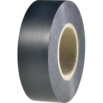 Electrical tape HellermannTyton HelaTape Flex 1000+ Black (L x W) 20 m x 19 mm Content: 1 Rolls