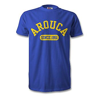 Arouca 1951 Established Football T-Shirt