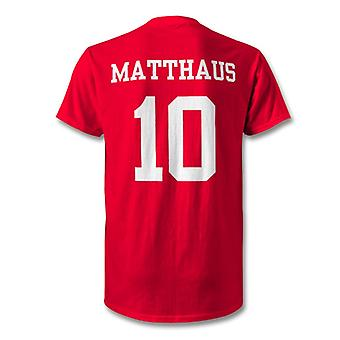 Lothar Matthaus Bayern Munich Legend Hero T-Shirt