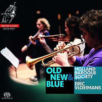Holland barok samfund - gamle, New & blå [SACD] USA import