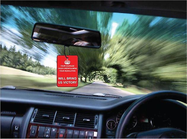 Houd kalm overwinning auto luchtverfrisser