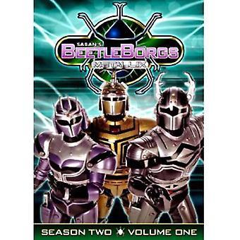 Beetleborgs Metallix Vol. 1-temporada 2 [DVD] EUA importar