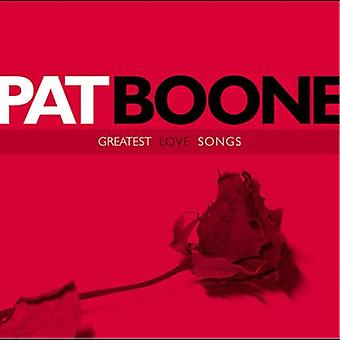 Pat Boone - Greatest Love Songs [CD] USA import