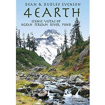 Dean Evenson - 4 jorden: Naturskønne udsigter af Ocean Stream floden dam [DVD] USA import