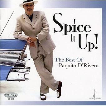 Paquito D'Rivera - Spice It Up!: The Best of Paquito D'Rivera [CD] USA import