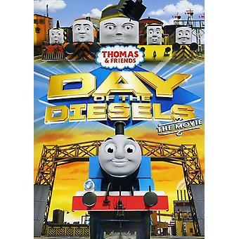 Thomas & venner - dag af dieselmotorer [DVD] USA importerer