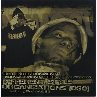 Different Style Organization (Dso) - Featuring Bushwick Bill [CD] USA import