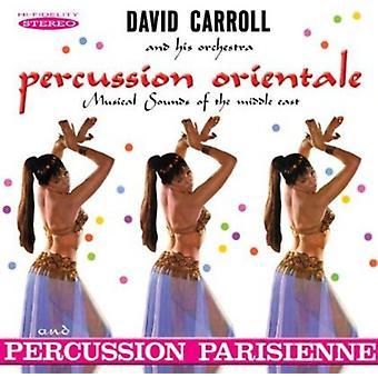 David Carroll orquesta - importación de USA de percusión oriental y percusión Parisienne [CD]
