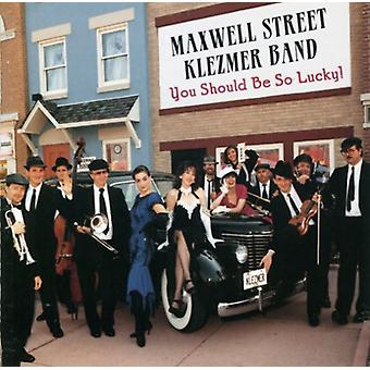 Maxwell st. Klezmer Band - You Should Be So Lucky [CD] USA import