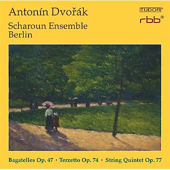 Dvorak / Scharoun Ensemble Berlin - Bagatelles Op. 47 - Terzetto Op. 74 - String [CD] USA import